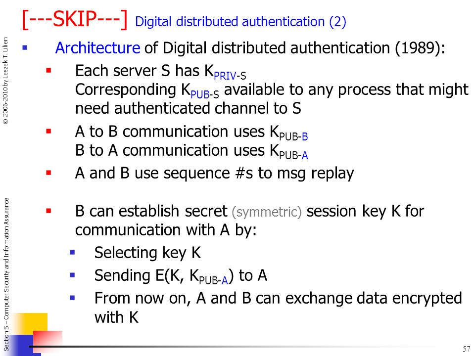 [---SKIP---] Digital distributed authentication (2)
